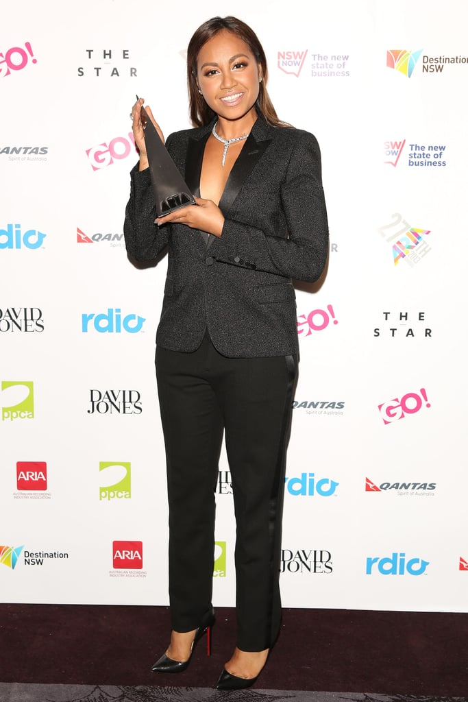 Jessica Mauboy at the 2013 ARIA Awards