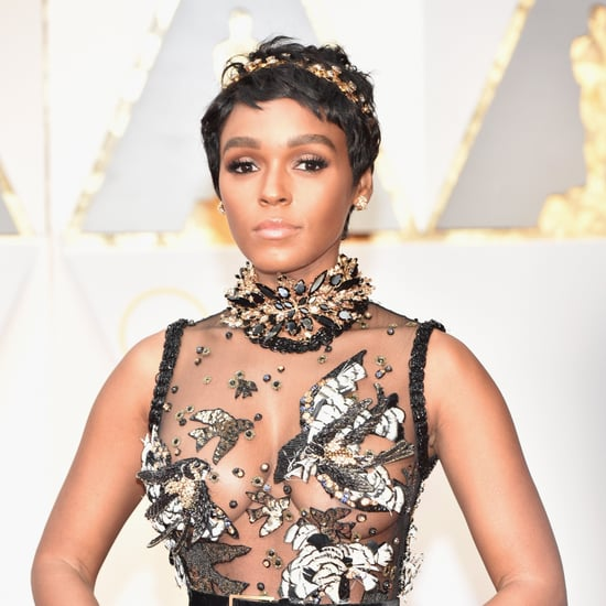 Janelle Monae Hair and Makeup at the 2017 Oscars