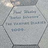 One cool tidbit about the town is that the main cast members of TVD all have their own stepping stone. You can find Nina Dobrev's outside Grayson Gilbert's Clinic and Ian Somerhalder's outside one of his favorite Thai restaurants.