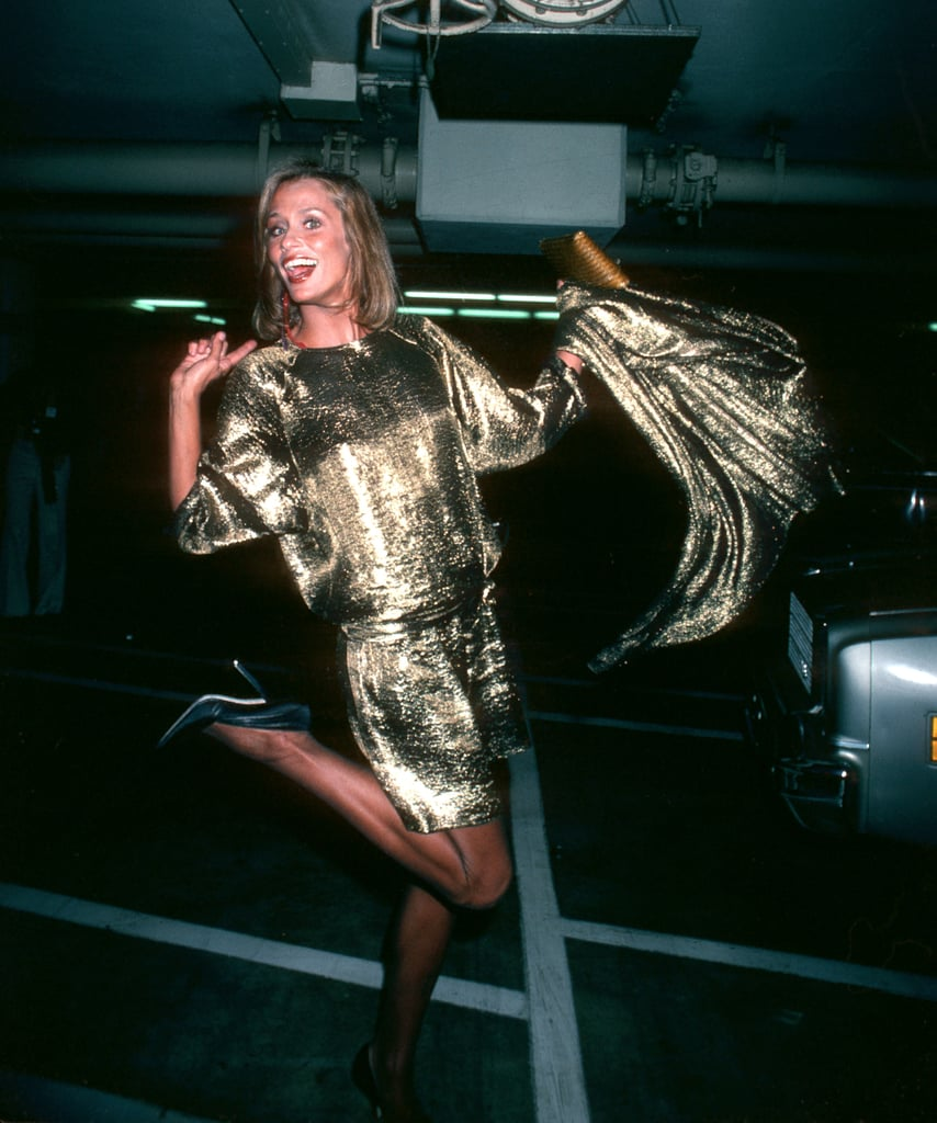 Lauren Hutton at the 1980 Academy Awards