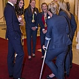 William and Kate With the GB Women's Hockey Team