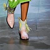 Prabal Gurung x Miron Crosby Shoes on the Runway at New York Fashion Week