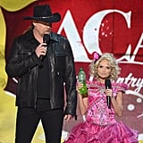 "Kristin Chenoweth showed off her ""go go juice"" while dressed up as Honey Boo Boo."