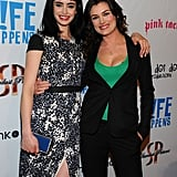Krysten Ritter and Kat Coiro at the premiere of Life Happens.