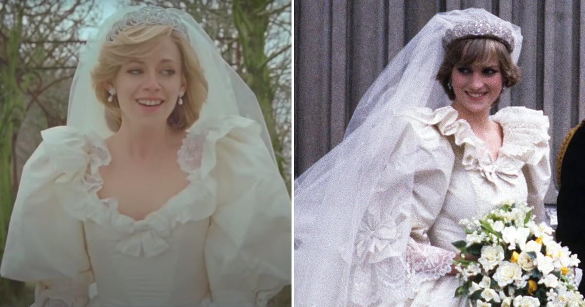 Kristen Stewart Stuns in a Spot-On Replica of Princess Diana's Famous Wedding Dress.jpg