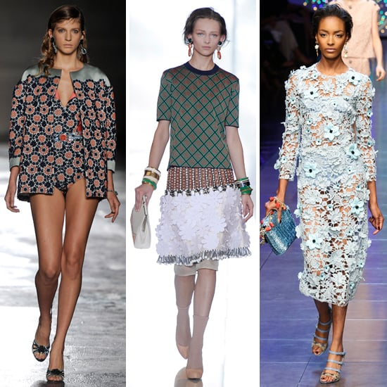 Runway Trends from Milan 2012 Spring Summer Fashion Week ...