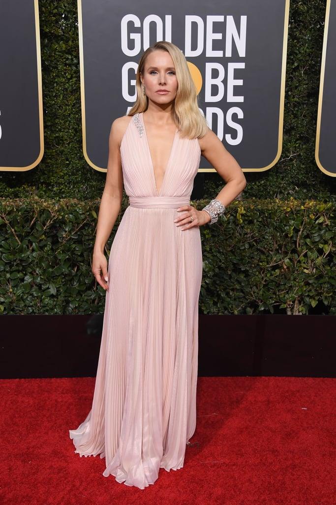 Kristen Bell at the 2019 Golden Globes