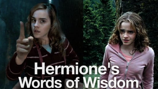 Hermione's Words of Wisdom Video From Harry Potter Movies 2010-11-15 14:17:16