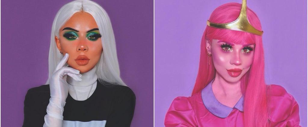 Eleanor Barnes's Best Cartoon Makeup Looks