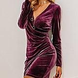 BerryGo Wrap Party Dress