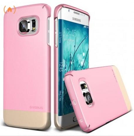 Verus Samsung Galaxy S6 Edge Case 2Link in Sugar Pink ($30)
