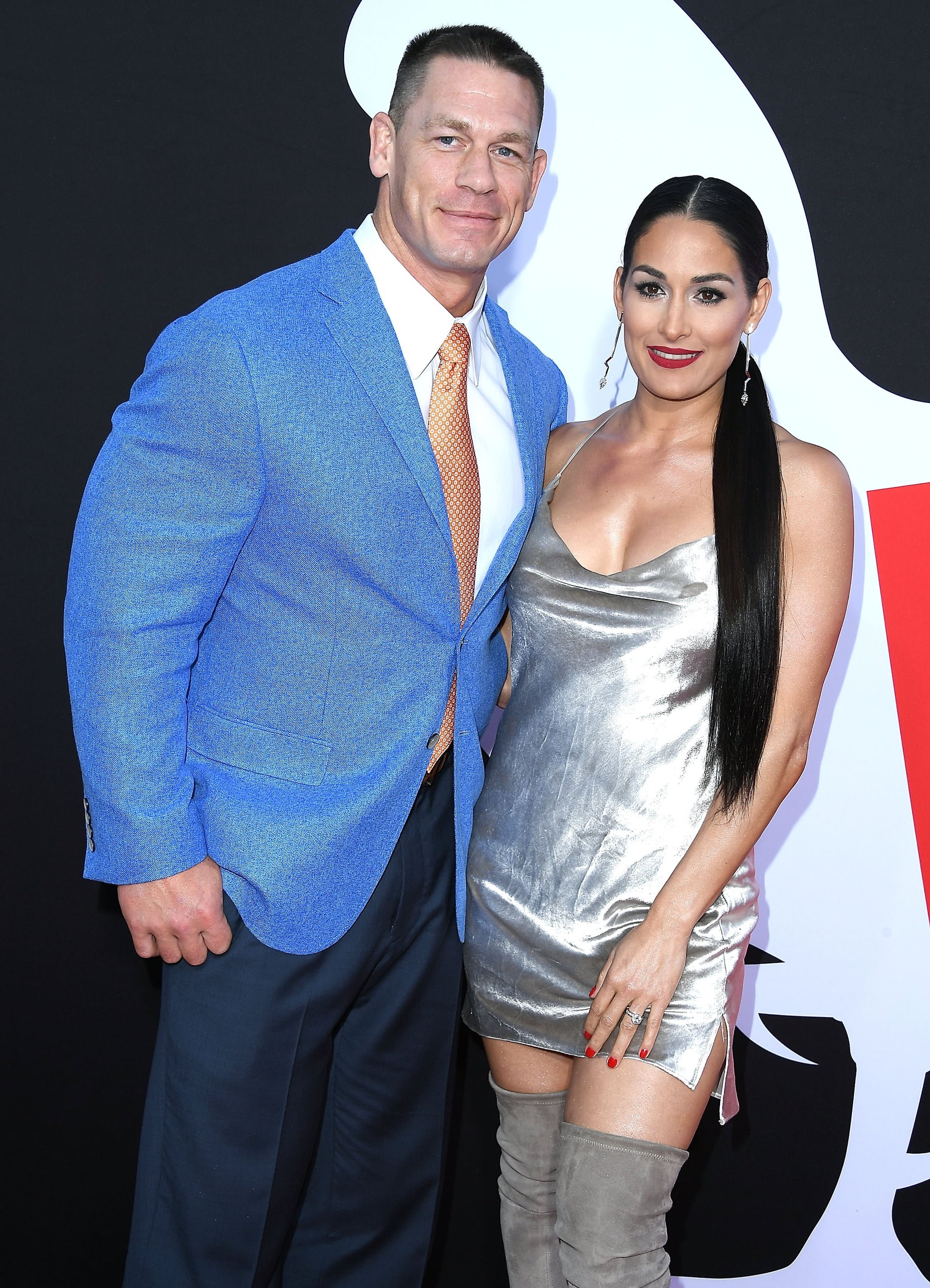 John cena and nikki bella spotted together after break up popsugar westwood ca april 03 john cena nikki bella arrives at the universal m4hsunfo