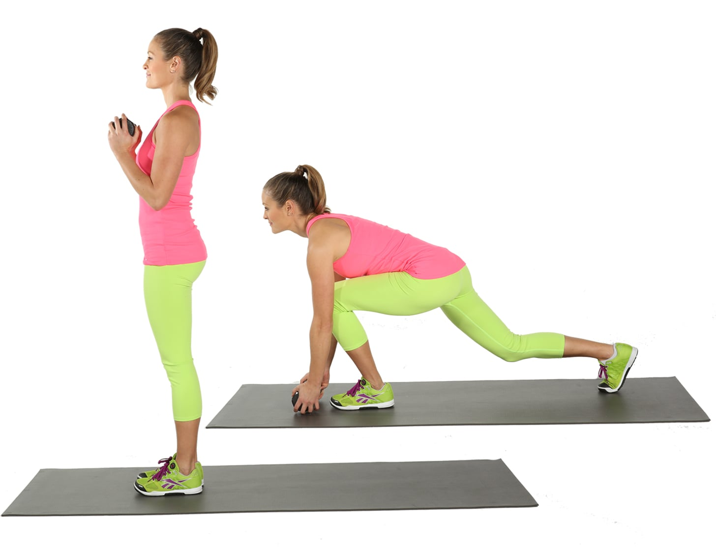 Deep Reverse Lunge   Skip the Squats and Do These 15 Booty-Sculpting Moves Instead   POPSUGAR Fitness Photo 14