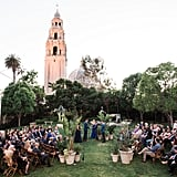 Wedding at the San Diego Museum of Art