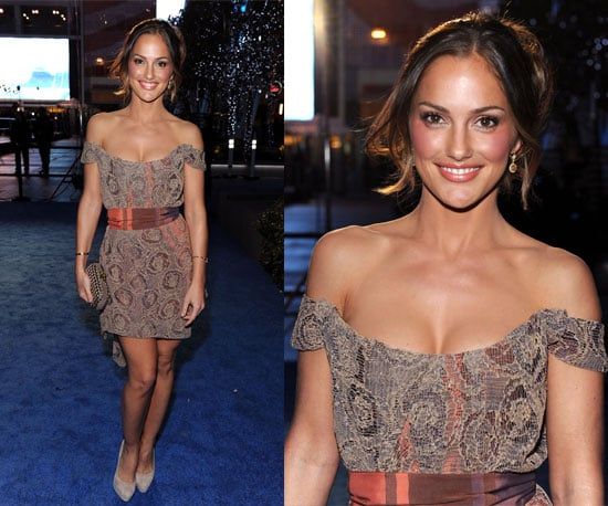 Minka Kelly rocks Vivienne Westwood at the 2011 People's Choice Awards
