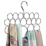 Keeping track of scarves is simple with the InterDesign Axis Scarf Hanger ($9). It features 18 hooks, so all your Winter scarves (and even beach cover-ups) have a home.