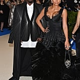 Diddy and Cassie at the 2017 Met Gala