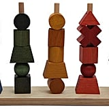 Wooden Story Wooden Rainbow Multi-Stack Block Set