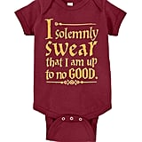 Harry Potter I Solemnly Swear That I Am Up to No Good One-Piece Bodysuit