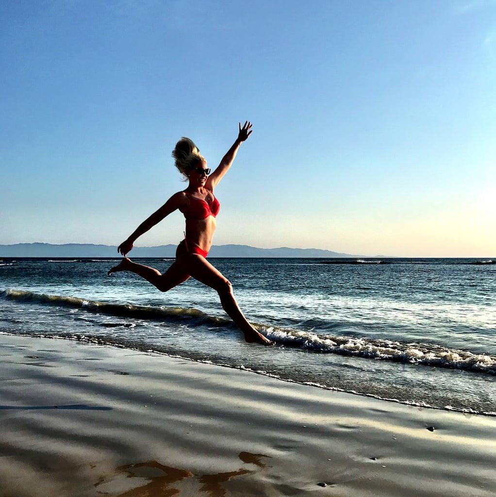Katherine Heigl Red Bikini