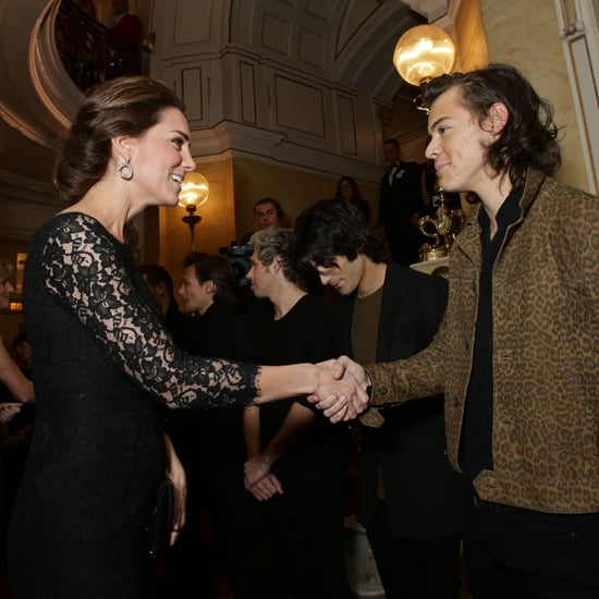 Kate Middleton and Prince William at Royal Variety Show 2014
