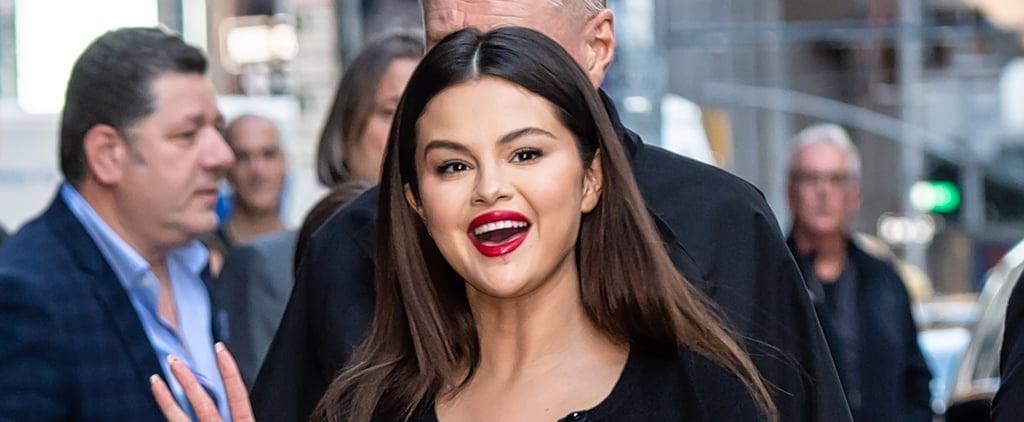 Selena Gomez Got a Surprise Helix Piercing