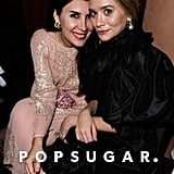 Ashley Olsen and Christina Ehrlich sat together at Vanity Fair's Oscar afterparty.