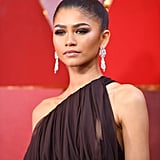 Zendaya Hair and Makeup at the 2018 Oscars