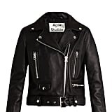 Mock Leather Bike Jacket, $2,350