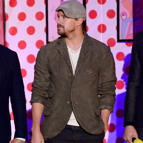 Channing Tatum Dance at 2015 MTV Movie Awards