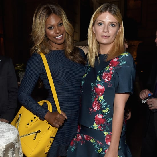 Laverne Cox and Mischa Barton on Red Carpet in NYC Pictures