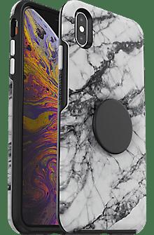 OtterBox Otter + Pop Symmetry White Marble Case