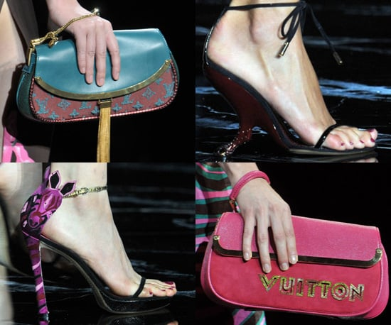 Louis Vuitton Spring 2011 Accessories on the Catwalk at Paris Fashion Week