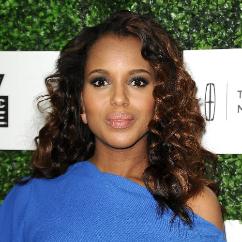 Kerry Washington Curly Hairstyle