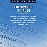 Follow the 10:1 Rule