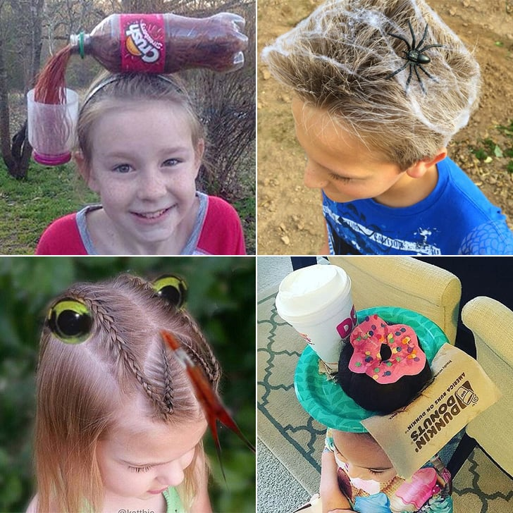 Crazy Hair Day Ideas Popsugar Moms