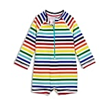 Primary The Baby Rainbow One Piece Rash Guard