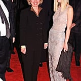 She walked the red carpet with Hillary Clinton for the premiere of Shakespeare in Love in December 1998.