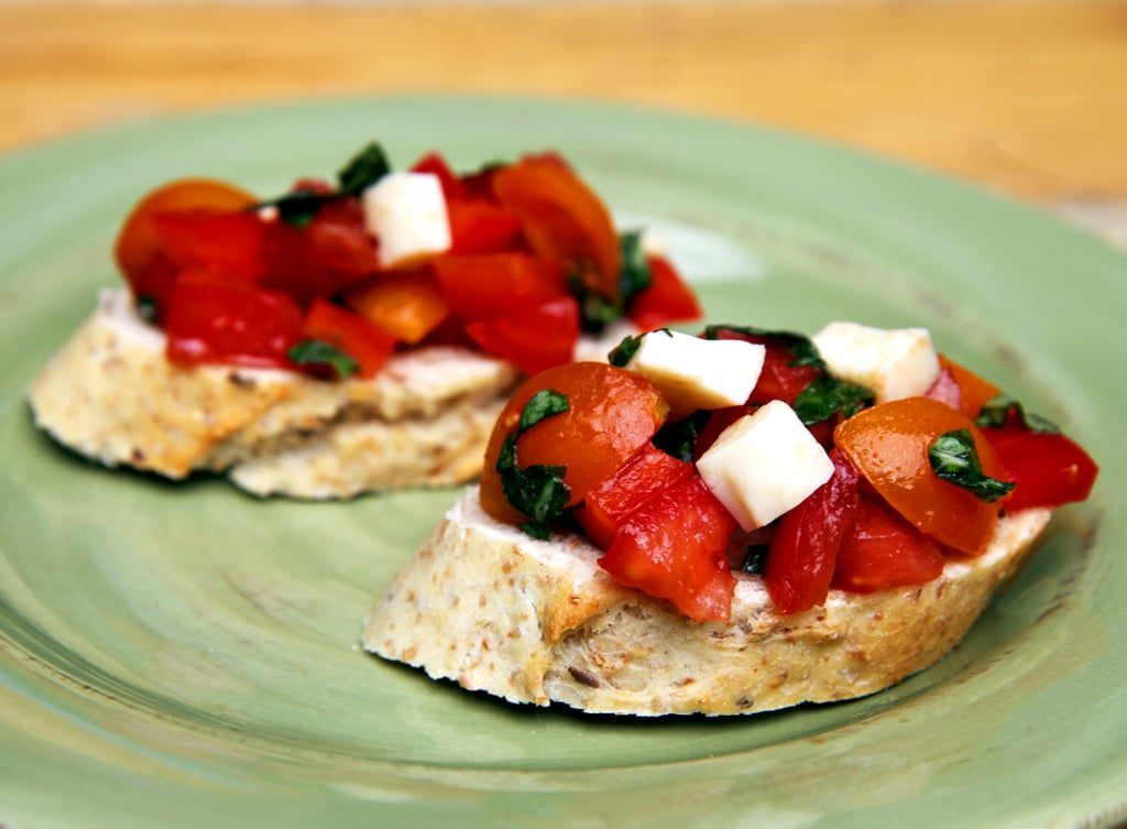 Bruschetta Healthy Appetizers Popsugar Fitness Photo 22