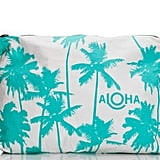 Aloha Collection Mid-Size Ocean Coco Palms Pouch
