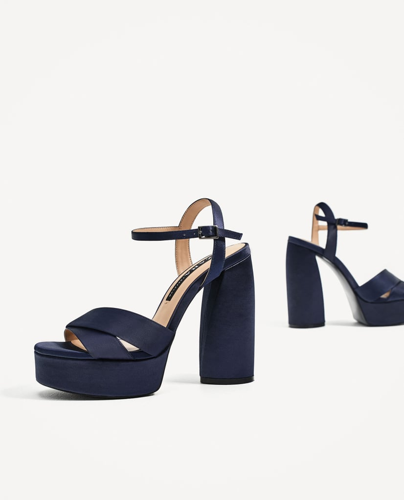 Zara High Heel Platform Sandals