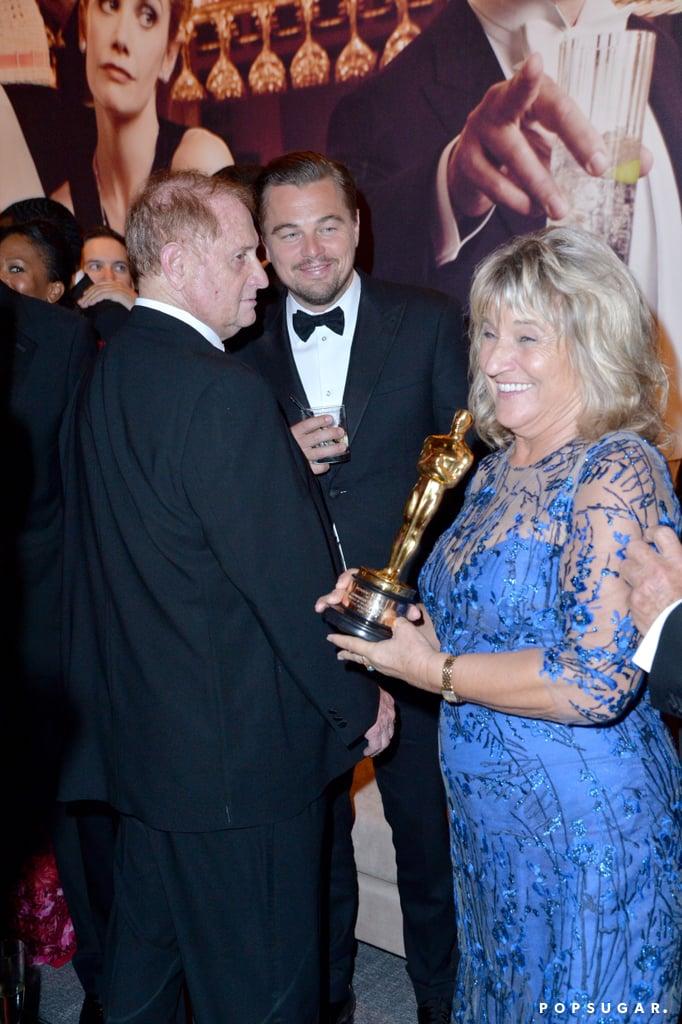 Pictured: Leonardo DiCaprio and Irmelin Indenbirken