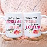 Lorelai and Rory Mugs ($19)