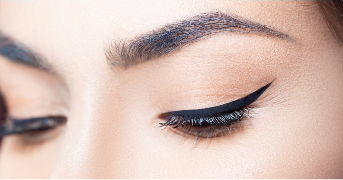 Create A Cat Eye Using Scotch Tape Popsugar Beauty