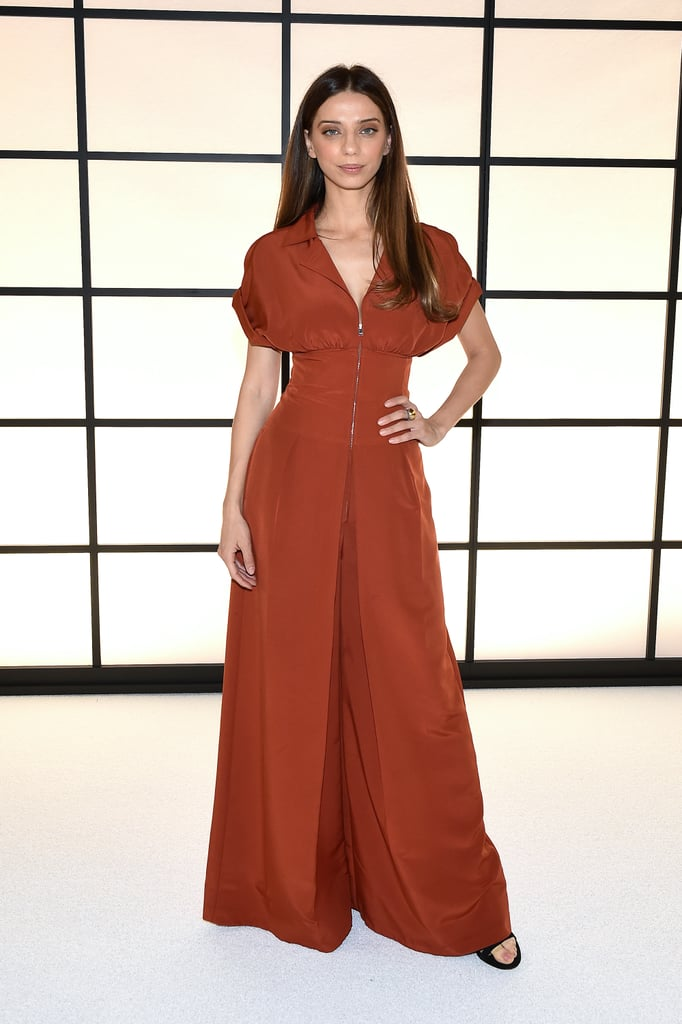 Angela Sarafyan at the ADEAM Fall 2020 Show