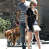 Amanda Seyfried and Justin Long went public with their relationship.