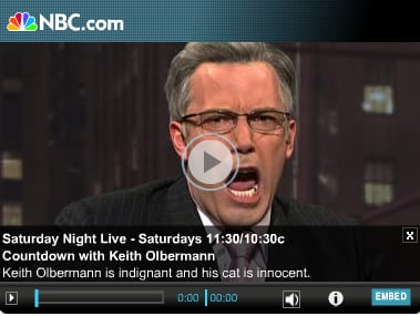 Four More Years For Olbermann — Are You Counting Down?
