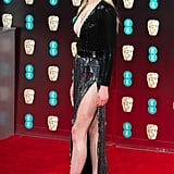 Sophie Turner at the EE British Academy Film Awards in 2017