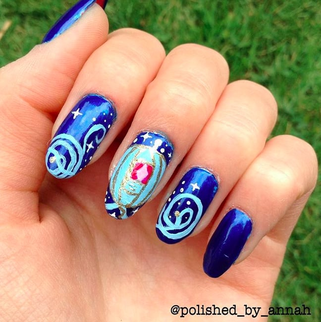 Disney Nail Art: POPSUGAR Beauty Australia