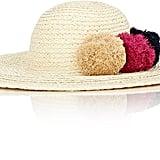 Barneys New York Women's Pom-Pom-Embellished Sun Hat-Multi ($135)
